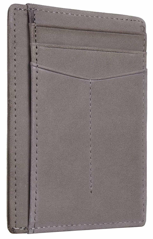 Best RFID Minimalist Slim Leather Small all
