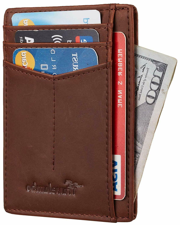best rfid front pocket minimalist slim wallet