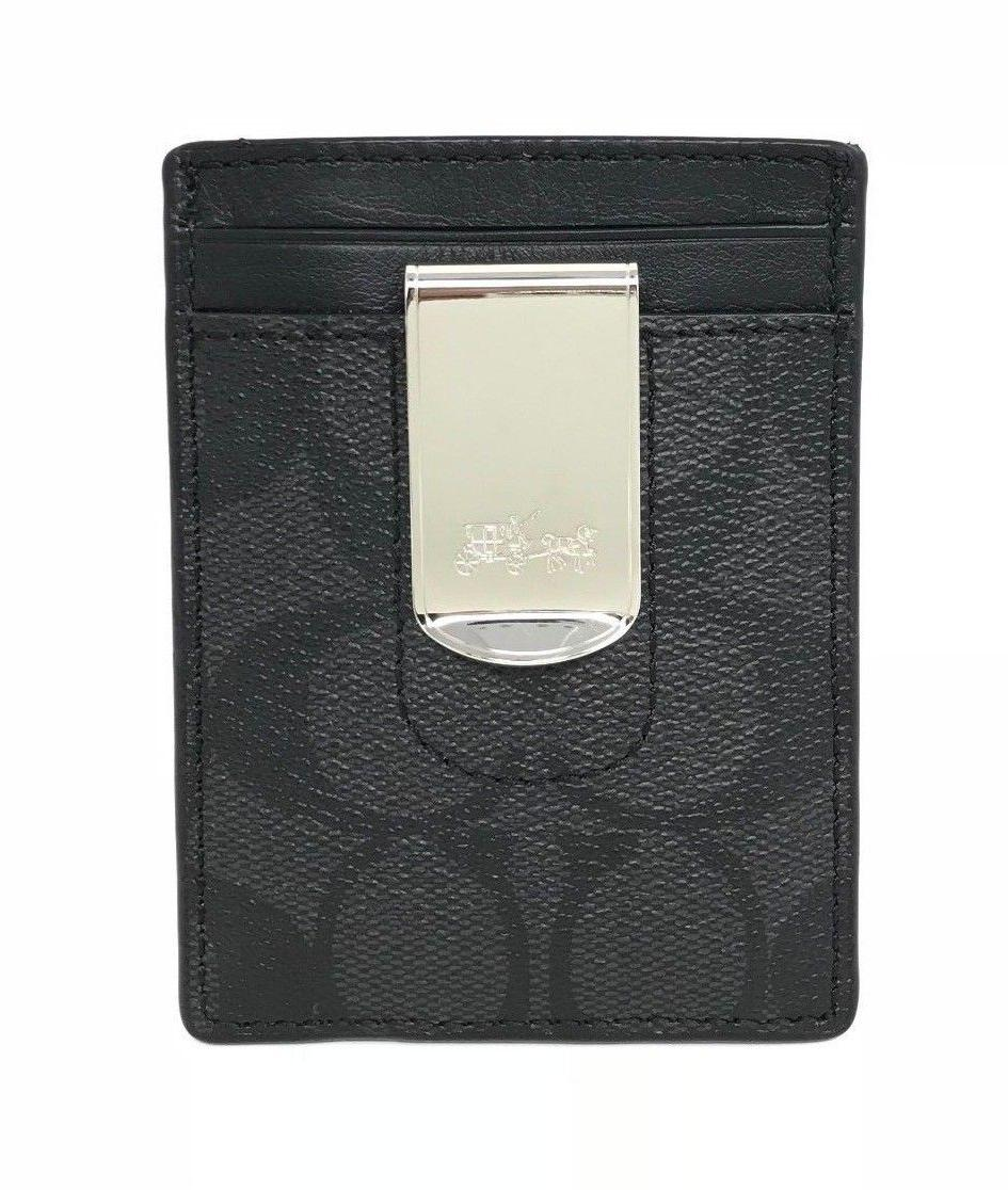 Coach Boxed Case Gift Varsity Stripe Clip F37945