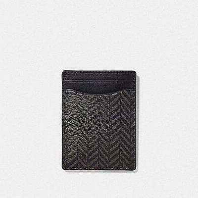 Card Case Set In Black F73112