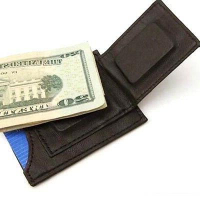 Brown Money Pocket Slim Wallet
