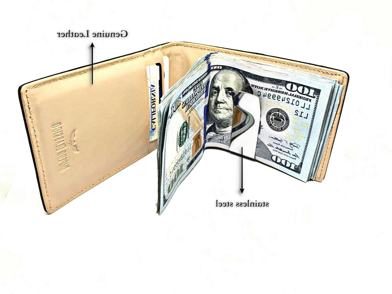 Carbon Fiber & Money Clip U.S. Seller