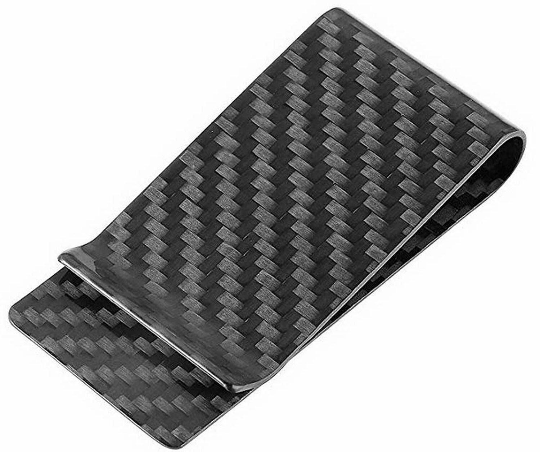 carbon fiber money clip bolsillo delantero
