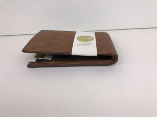 fossil coby money clip bifold card case