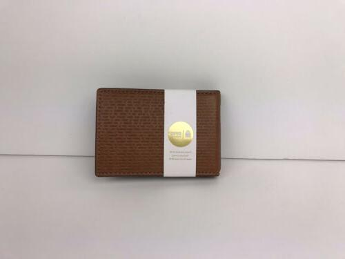 coby money clip bifold card case