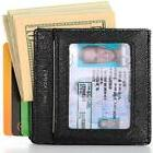 ❤ Compact Rfid Card Sleeve Wallet Premium Leather Money Cl