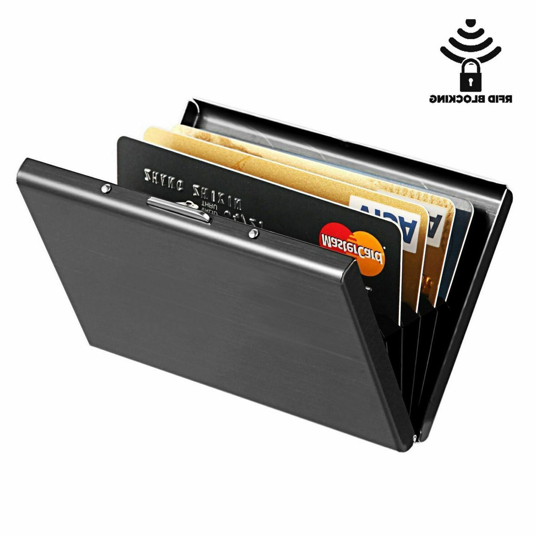 credit card holder wallet money clip cash