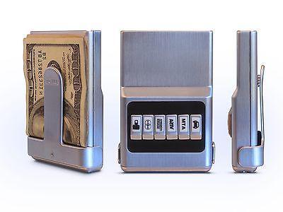 ACM Organizer- RFID All Silver