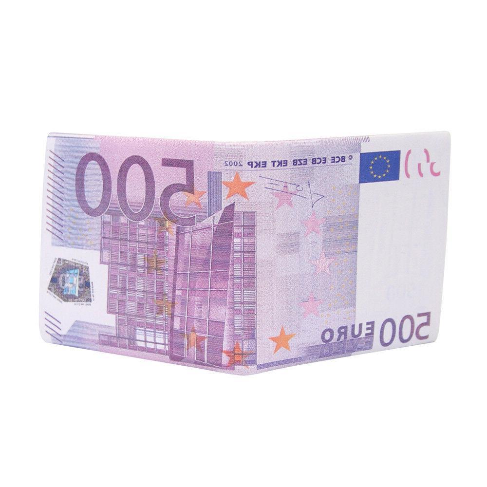 Dollar/Pound/Euro Bifold ID Wallet