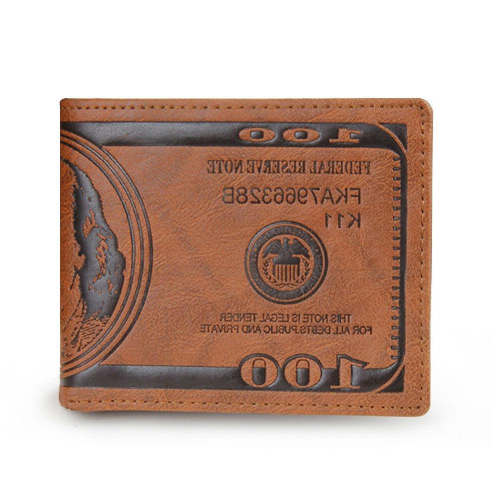 Dollar/Pound/Euro Bifold Card Case ID
