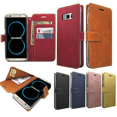 Dual Flip Wallet Leather Case Money Clip Card Cover For iPho