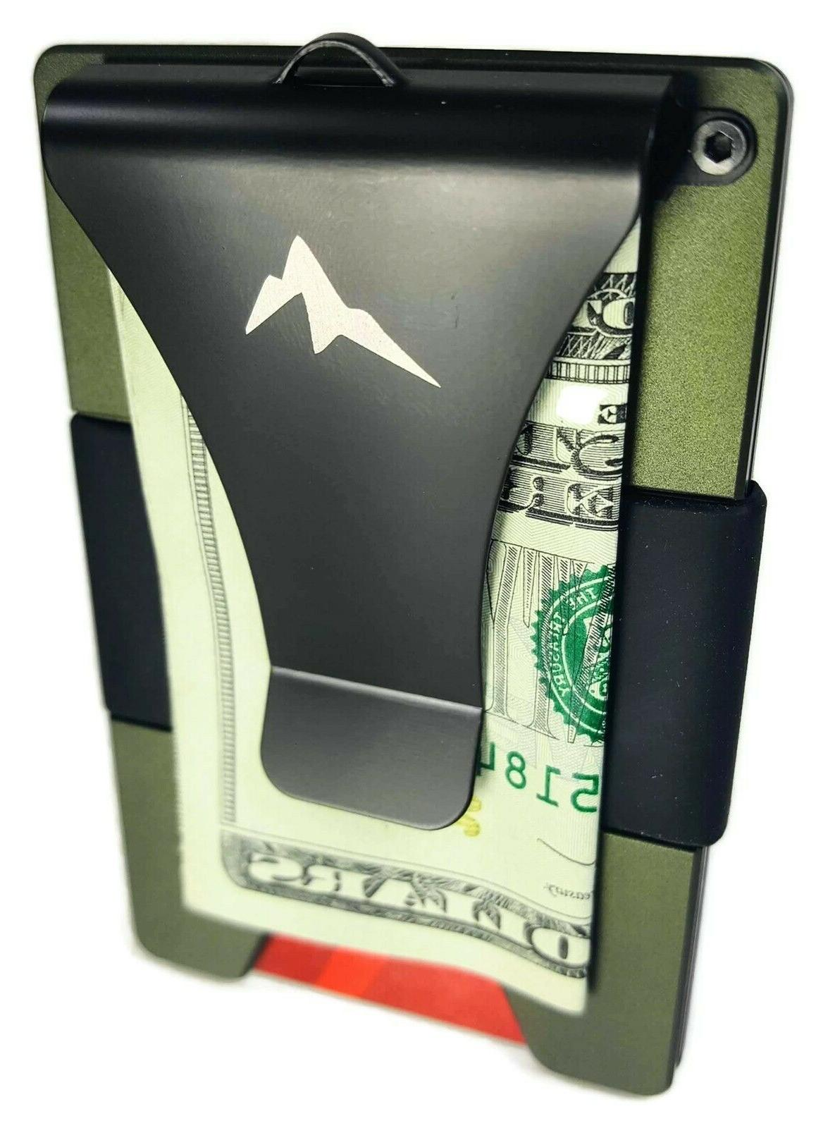 EDC Men's Tactical Wallet Minimalist Front Pocket RFID