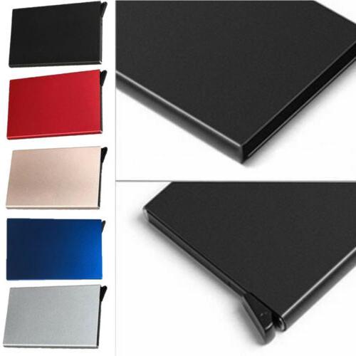 Fashion Aluminum Clip Wallet Case NEW