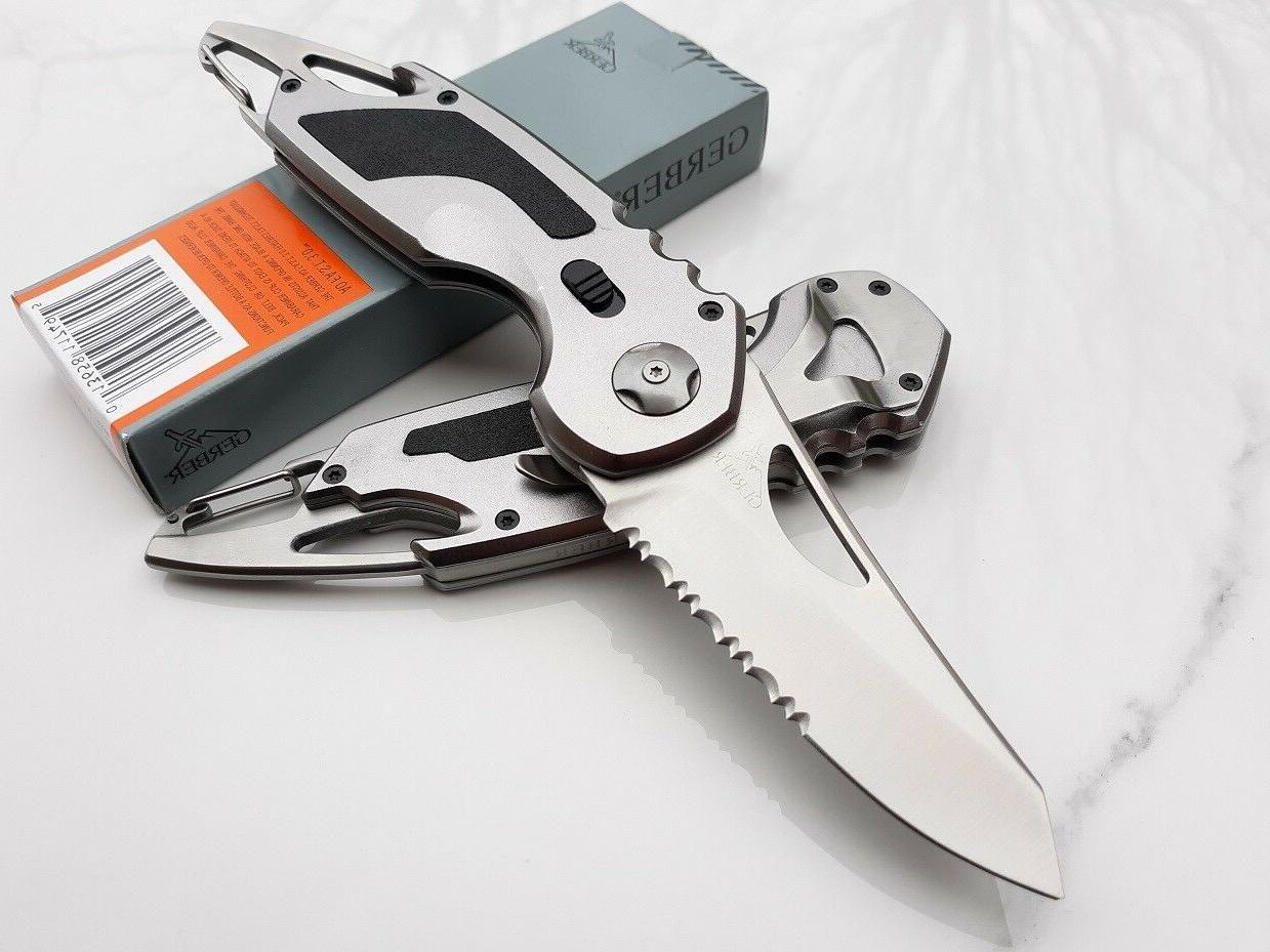 Gerber Knife Stainless Aluminum