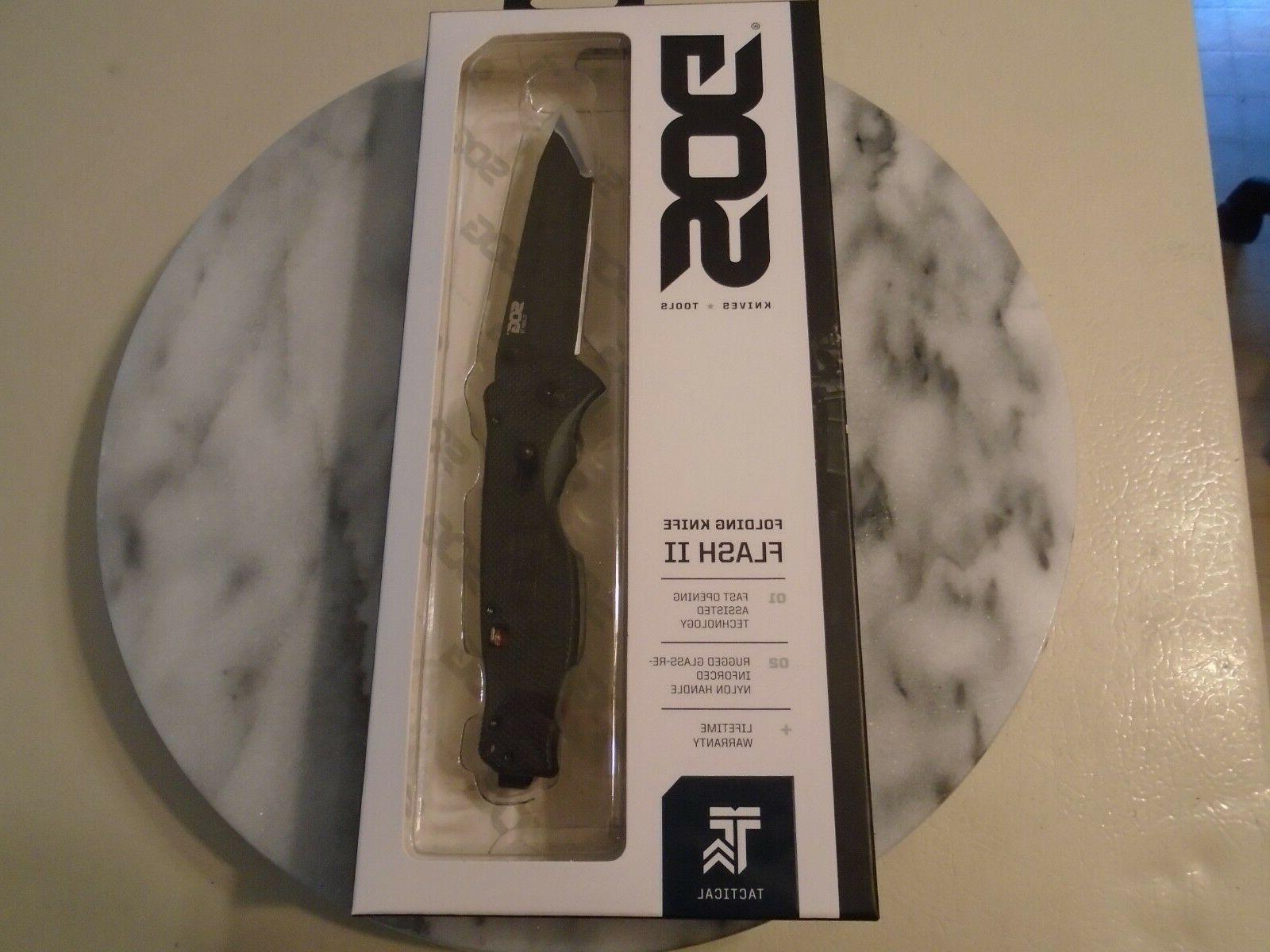 """SOG Flash Tanto Knife TFSAT8-CP Aus-8 8"""""""