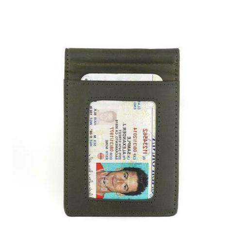 Andar Leather Blocking, Bifold Griffin