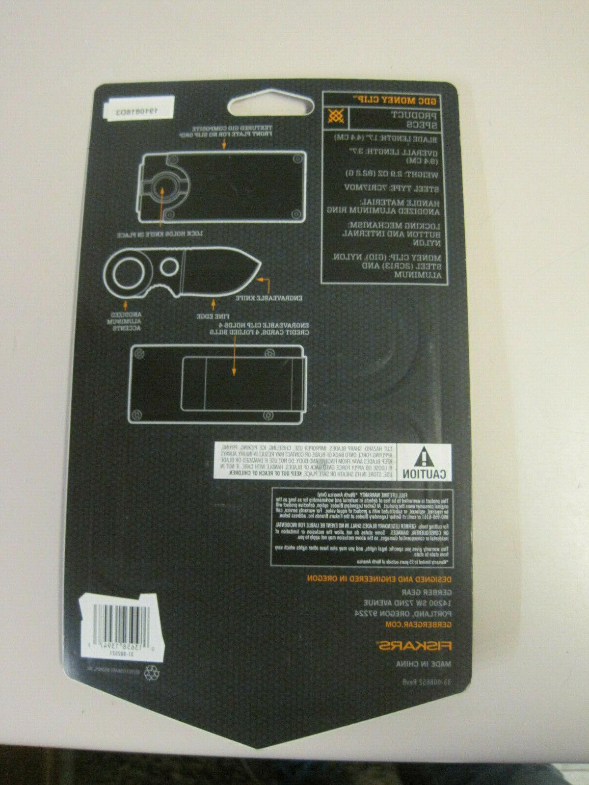 Gerber GDC model 31-002521, new in package