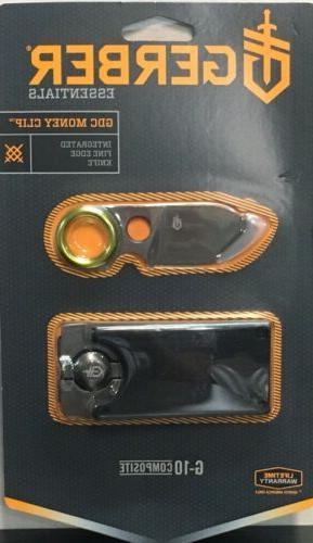 gdc money clip pocket knife integrated fine