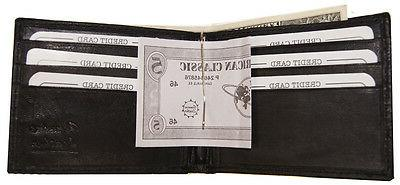 MENS Minimalist Wallet Money Clip Outside