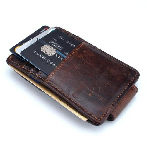 Mcdull Genuine Leather Business Credit Id Card Case Mens Mag