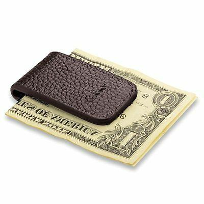 Zodaca Leather Money Clip,