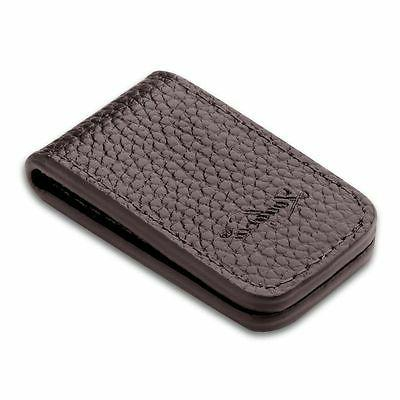 Zodaca Money Clip, Brown