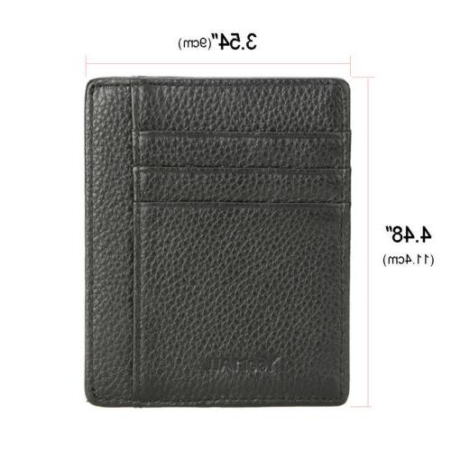 Genuine ID Holder Pocket