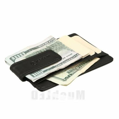 Genuine leather ID Holder Pocket