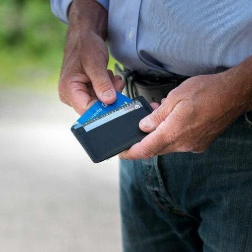 Hanks Clip Front Pocket Wallet Credit USA MADE