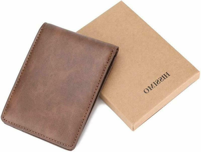 Pocket ID Window Card Case with RFID Blocking