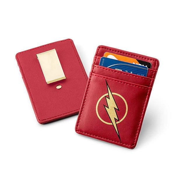 DC Comics Justice League The Flash Card Wallet with Money Cl