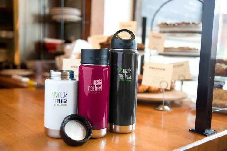 Klean Wide Mouth Insulated Bottle With Caps Loop