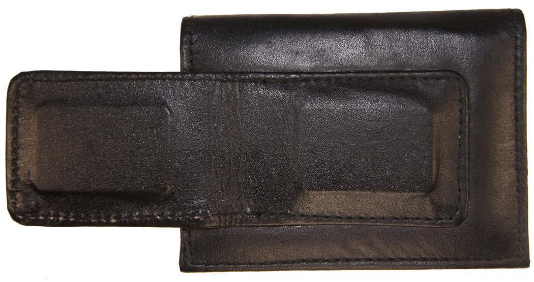 Leather Bifold Money Clip Slim Credit Id Men's Wallet