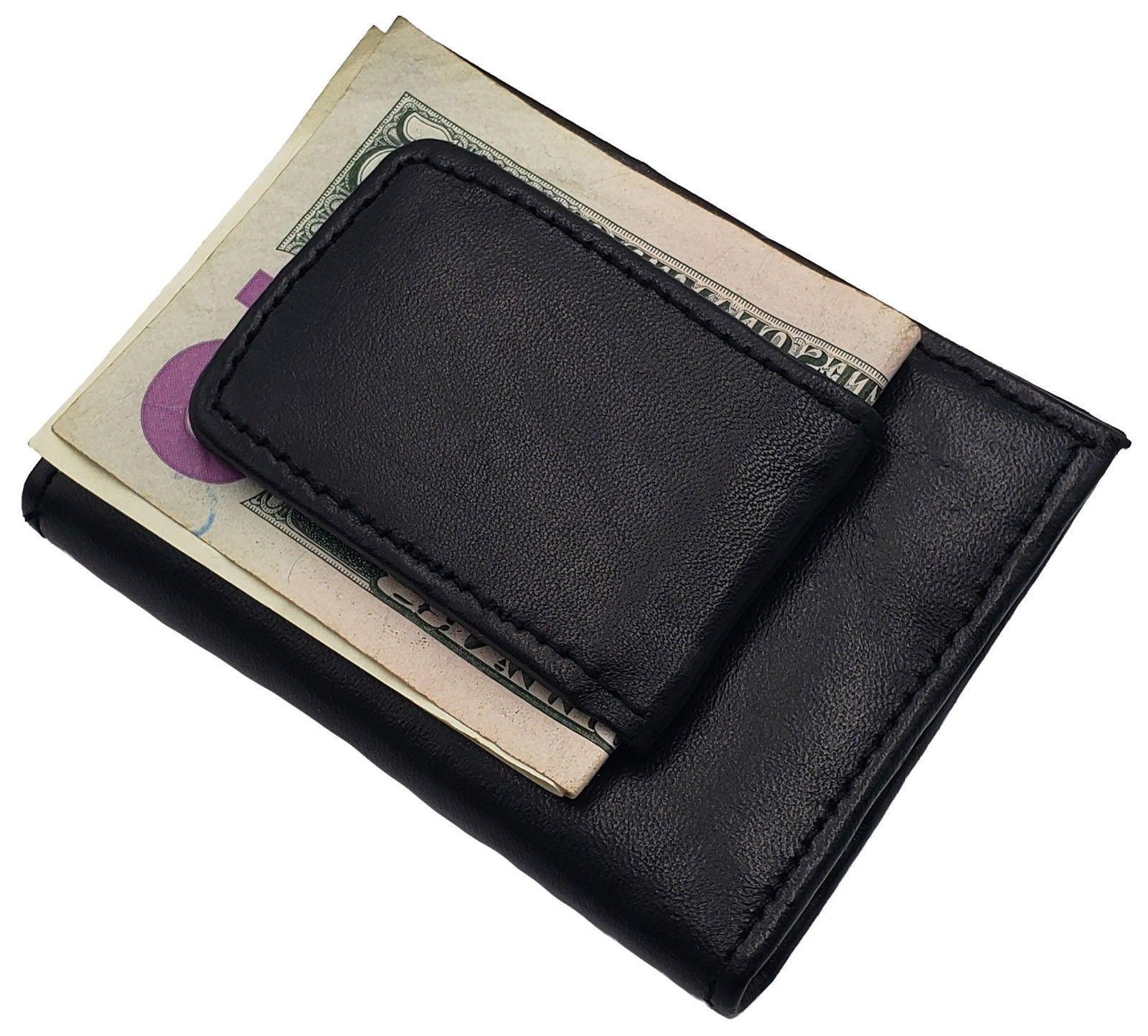 AG Magnetic Money Clip Card Holder Close