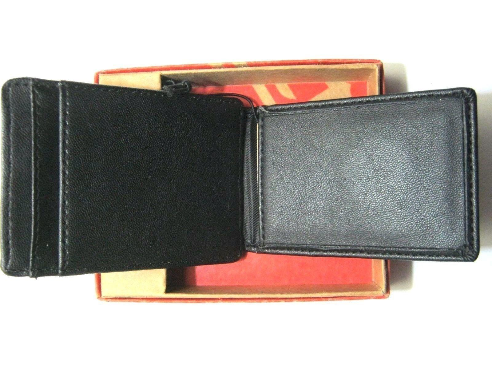 DOCKERS Leather Money Clip Wallet