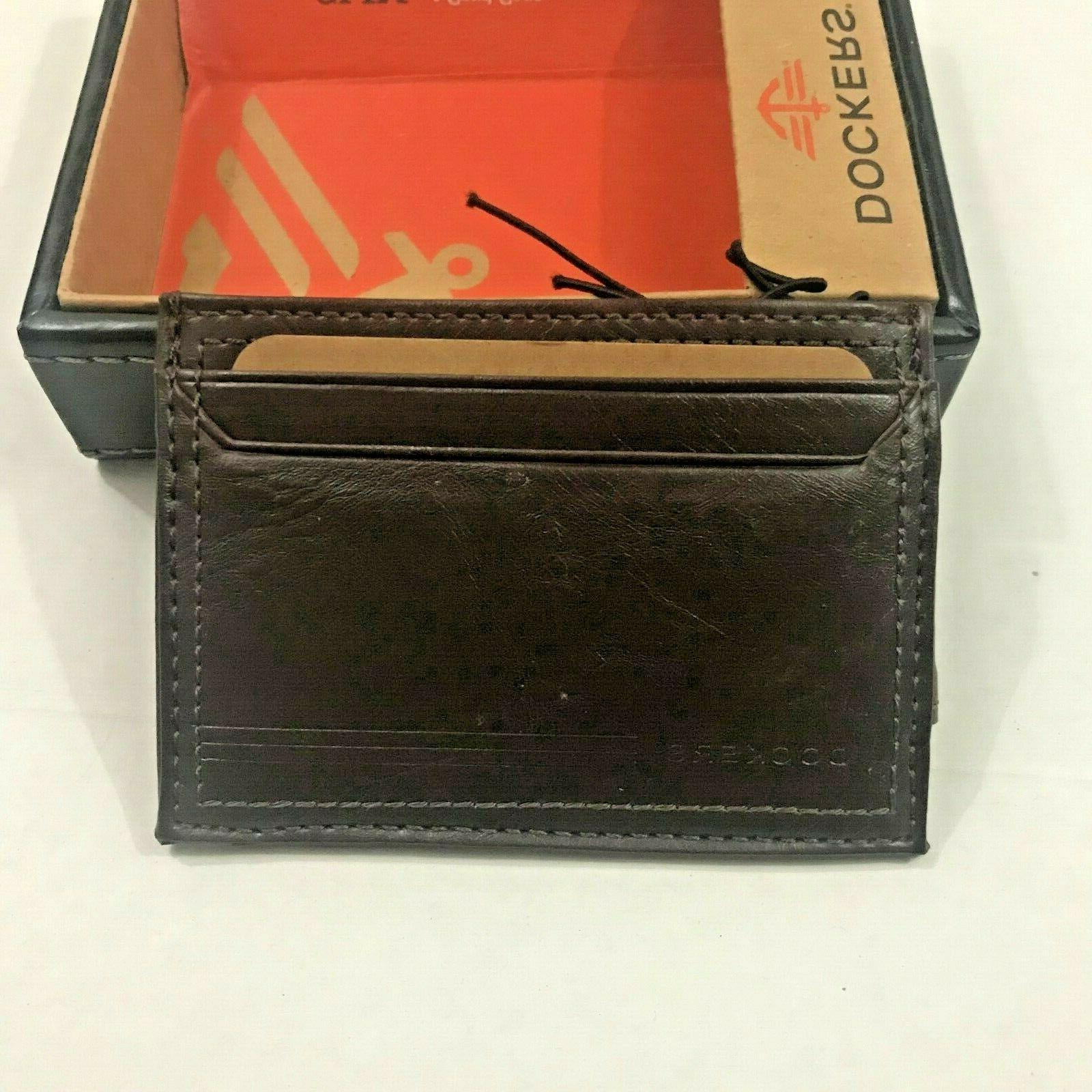 Dockers Wallets Leather Front Pocket Wallet