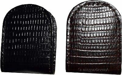 Leather clip, Lizard skin printed Unbranded money clip holder NWT