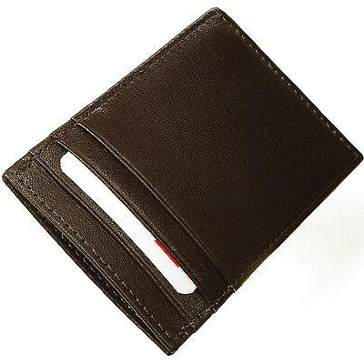Alpine Swiss Money Wallet Card Case 15 Bill Holder