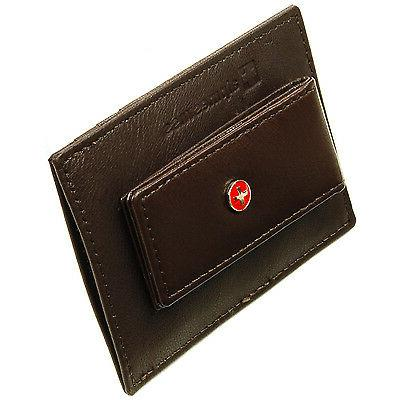 Alpine Swiss Money Clip Wallet Card 15