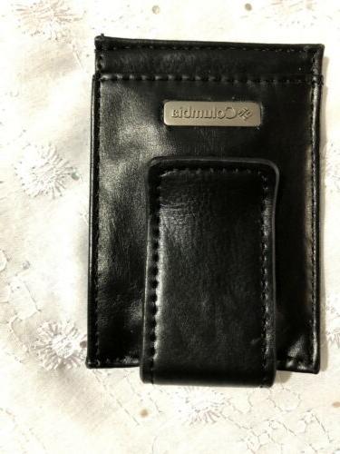 Columbia Money Clip Wallet