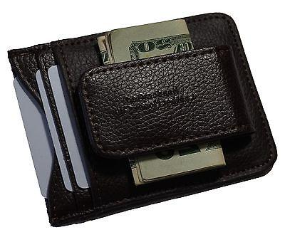 Genuine Money Clip front pocket magnet ID Case