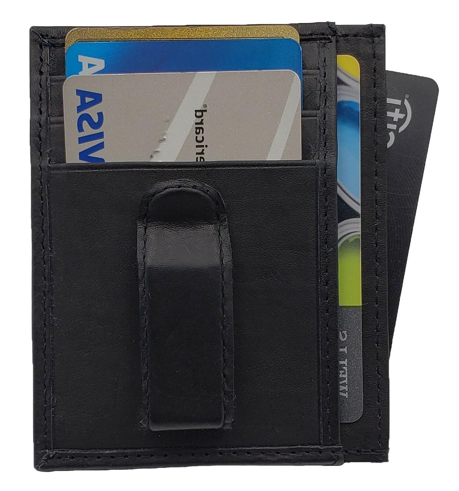 Men's Slim Thin Card Holder New