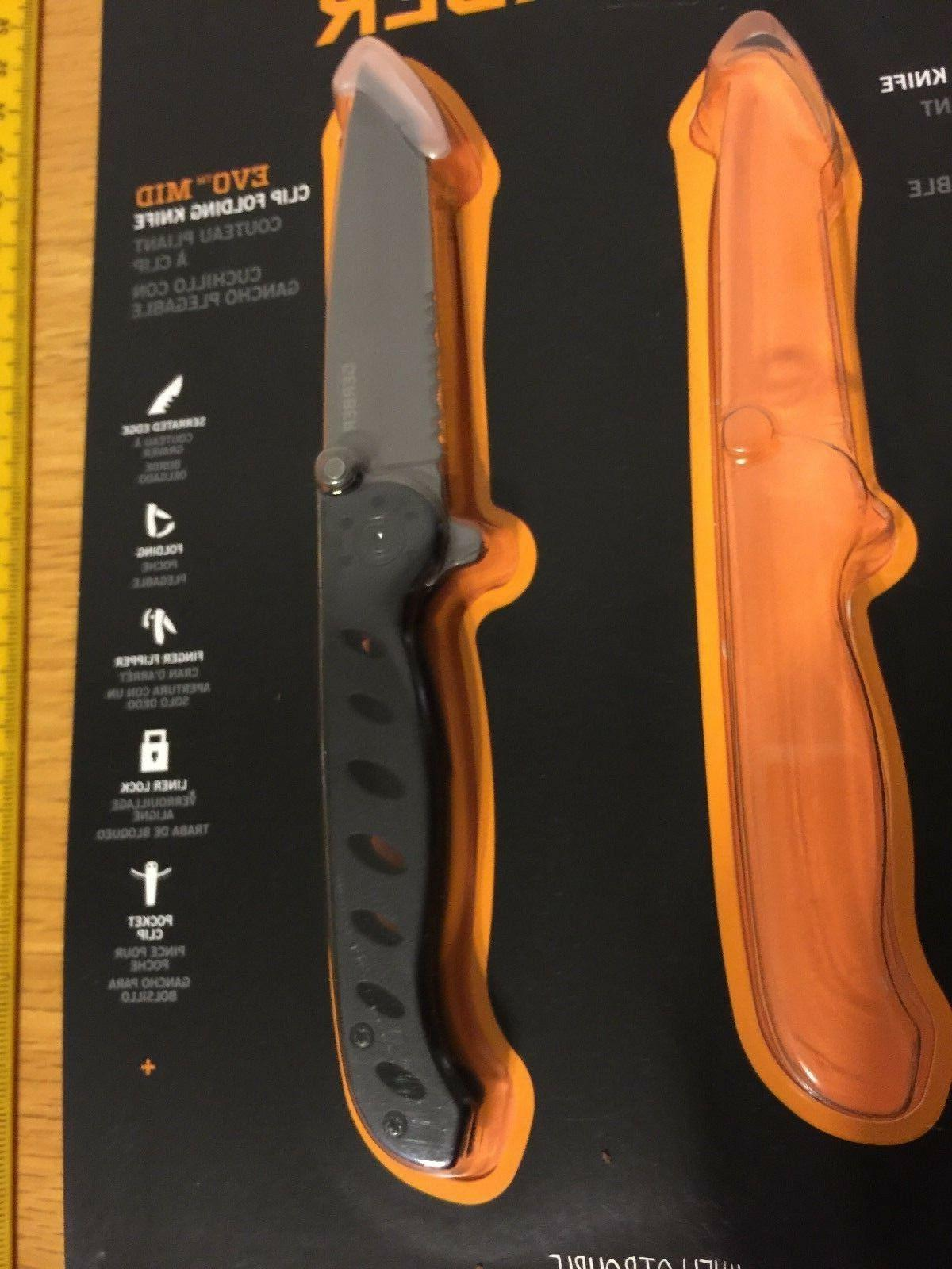Lot 2 knives, EVO MID