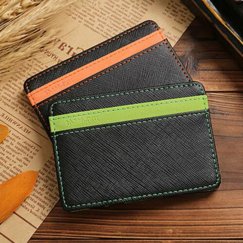 Magic Wallet Holder leather Clip