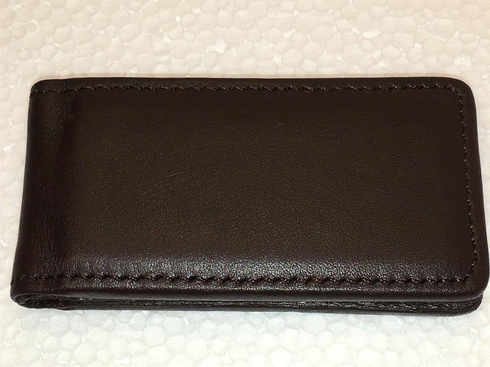 Tommy Bahama 100% Leather Chocolate 1.5""