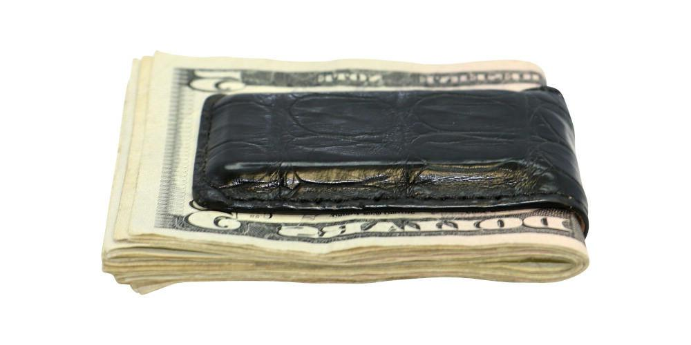 Magnetic Money Crocodile Skin All Factory in USA