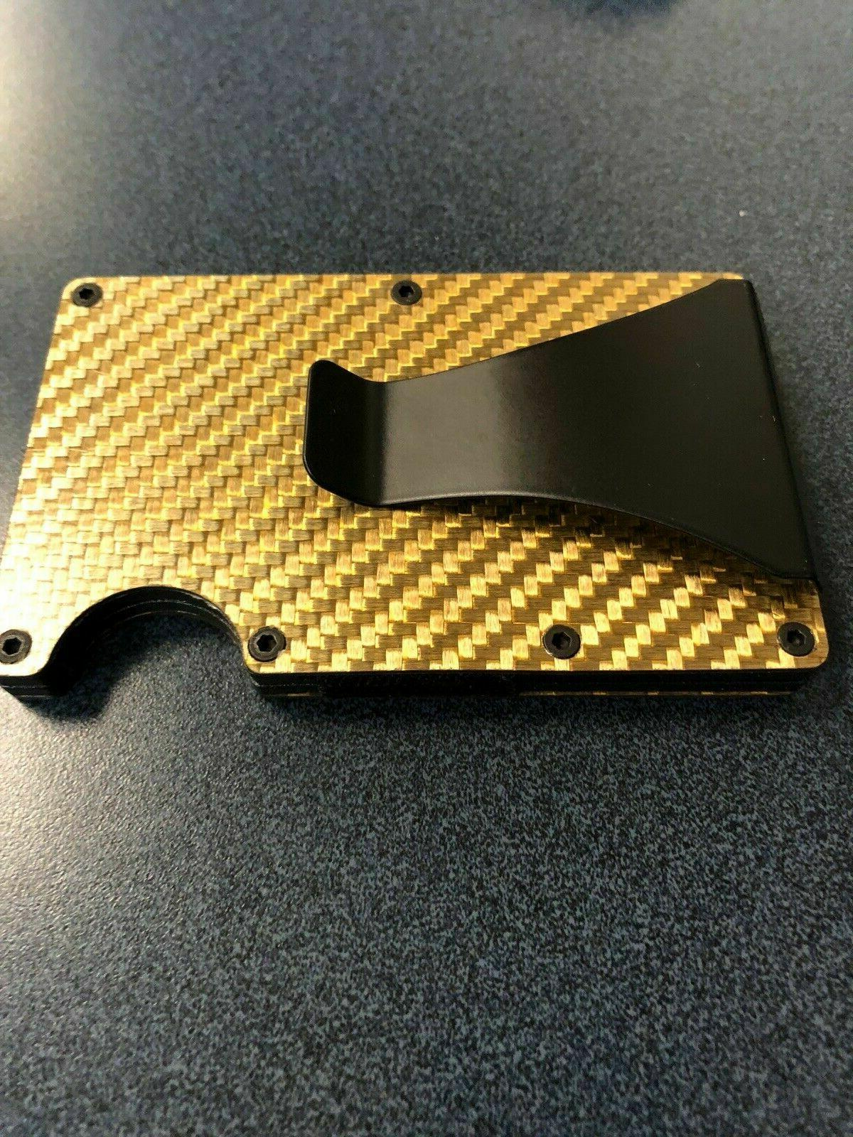 Men Card Wallet Gifts Blocking Fiber