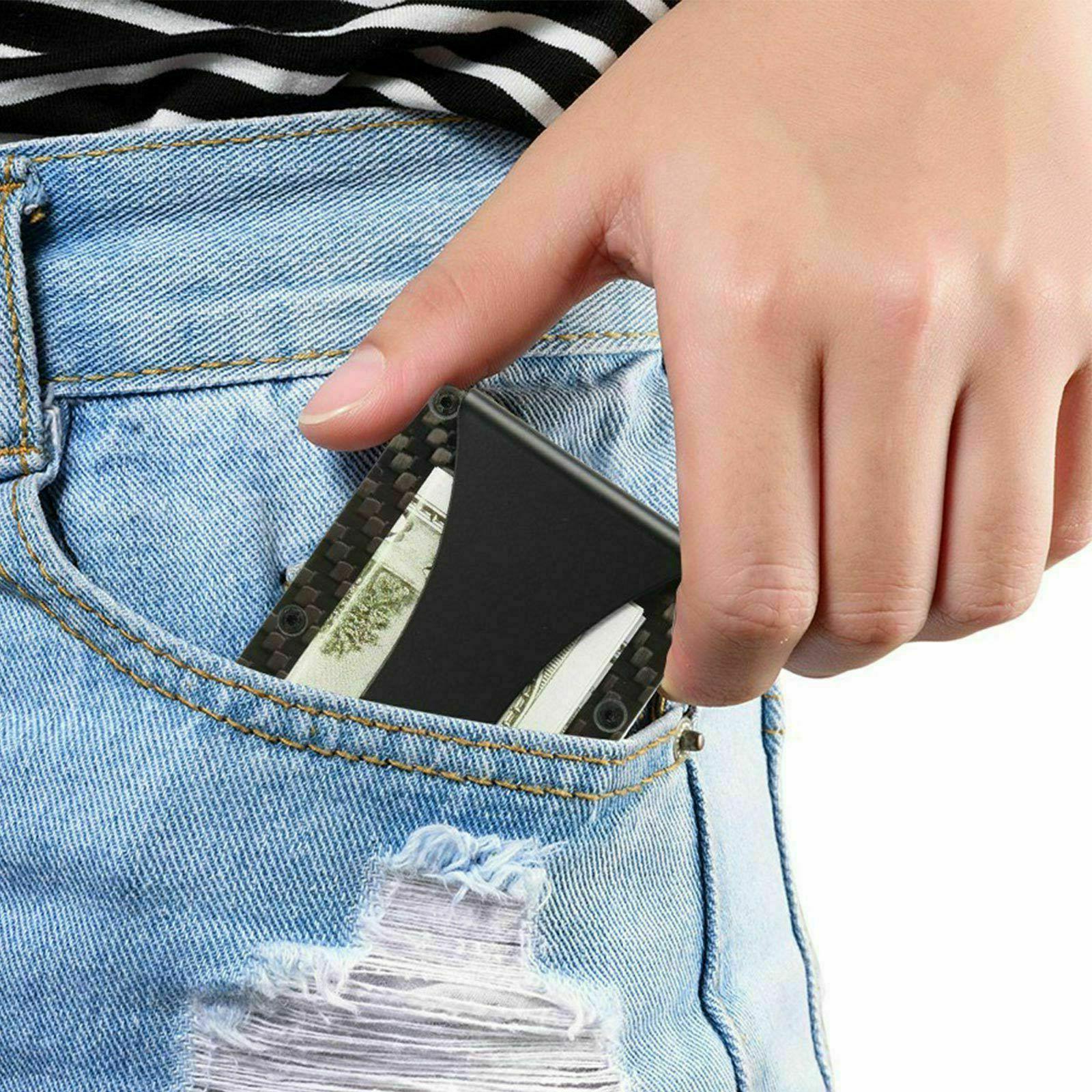 Men Wallet Slim Fiber