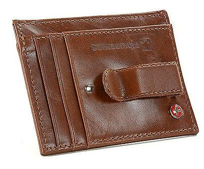 Alpine Money Clip Front Wallet Card Holder