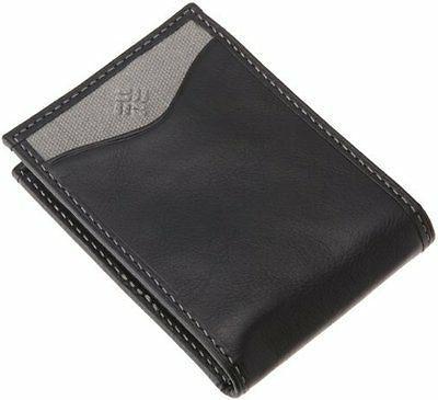 men leather slim front pocket